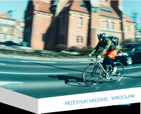 Przesyłki Miejskie - Kurier Wrocław - Wrocławscy Kurierzy Rowerowi